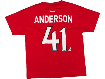 Ottawa Senators Craig Anderson NHL CN Youth Player T-Shirt