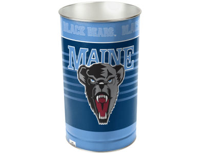 Maine Black Bears Trashcan