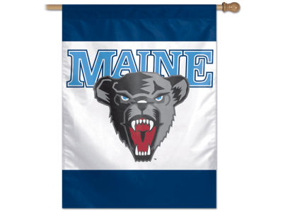 Maine Black Bears 27X37 Vertical Flag