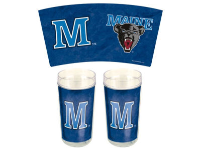 Maine Black Bears 24oz Two Pack Tumbler