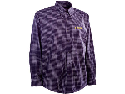 LSU Tigers NCAA Esteem Long Sleeve Button Down Shirt