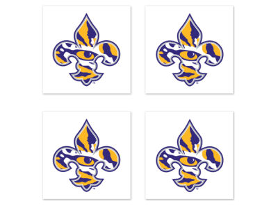 LSU Tigers Wincraft Tattoo 4-pack
