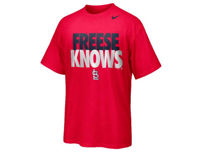 St. Louis Cardinals David Freese Nike MLB Player Knows T-Shirt