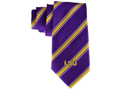 LSU Tigers Necktie Woven Poly 1