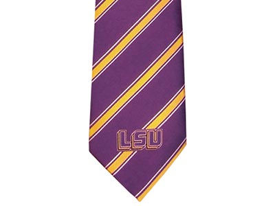LSU Tigers Oxford Woven Tie