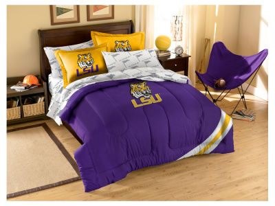 LSU Tigers Full Bed Set