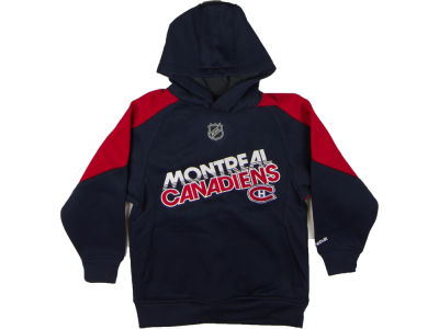 Montreal Canadiens NHL CN Youth Colorblocked Performance Fleece