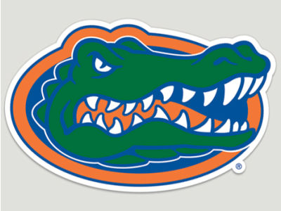 Florida Gators Die Cut Color Decal 8in X 8in