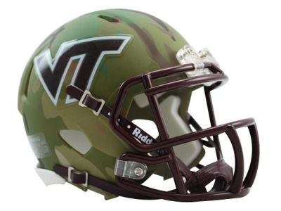 Virginia Tech Hokies HydroFX Speed Mini Football Helmet