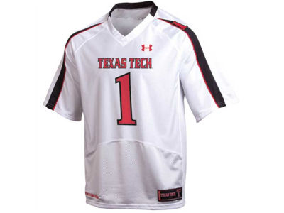 Texas Tech Red Raiders TTU #1 Under Armour NCAA Replica Football Jersey