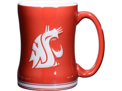 Washington State Cougars 14 oz Relief Mug