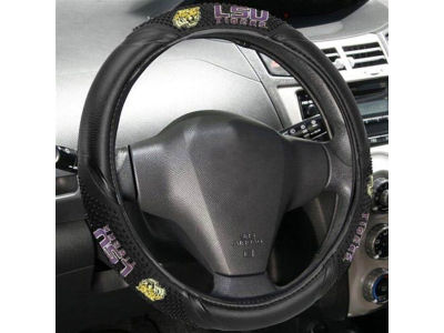 LSU Tigers Massage Grip Steering Wheel Cover