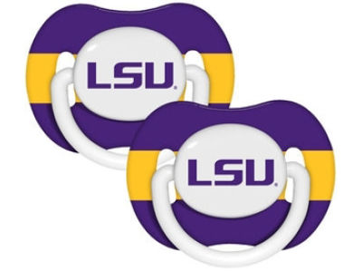 LSU Tigers 2-pack Pacifier Set