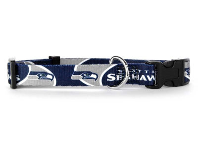 Seattle Seahawks Medium Dog Collar