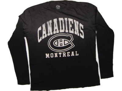 Montreal Canadiens NHL CN Trip Long Sleeve T-Shirt