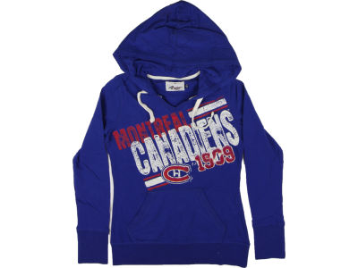 Montreal Canadiens GIII NHL CN Womens 2 Deep Hoodie