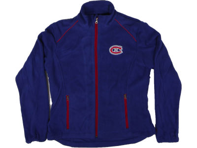 Montreal Canadiens GIII NHL CN Womens Alpine Full Zip Jacket