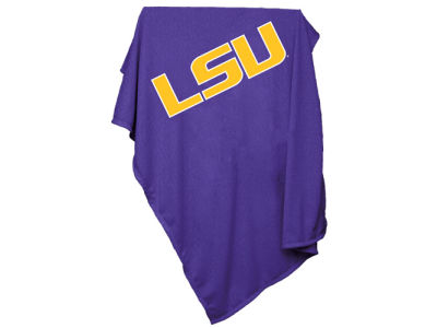 LSU Tigers NCAA Sweatshirt Blanket