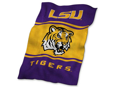 LSU Tigers Logo Brands Ultrasoft Blanket