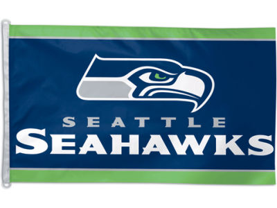 Seattle Seahawks 3x5ft Flag