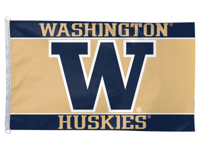 Washington Huskies 3x5 Deluxe Flag