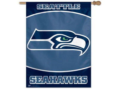 Seattle Seahawks 27X37 Vertical Flag