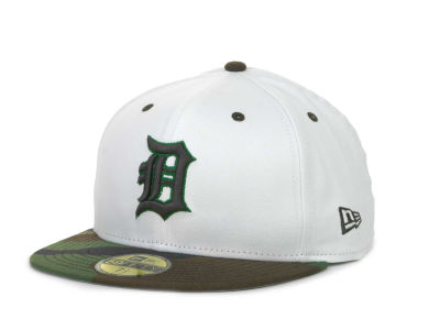 Detroit Tigers New Era MLB BC Camo 59FIFTY Cap