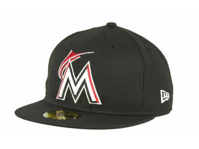 Miami Marlins New Era BR Stock 59FIFTY Cap