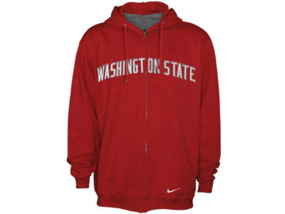 Washington State Cougars Nike NCAA Classic Full Zip Hoodie
