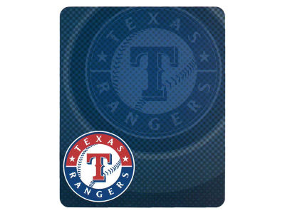 Texas Rangers 50x60in Plush Throw Retro