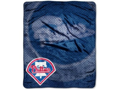 Philadelphia Phillies 50x60in Plush Throw Blanket