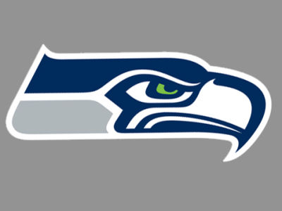 Seattle Seahawks Die Cut Color Decal 8in X 8in