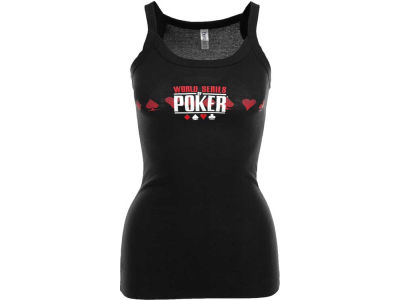 World Series Of Poker Womens Deep V Tank