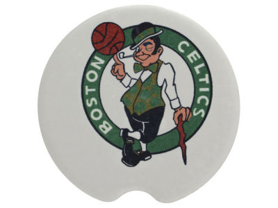 Boston Celtics 2 Pack Car Coasters