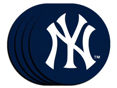 New York Yankees 4-pack Neoprene Coaster Set