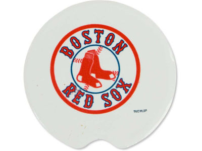 Boston Red Sox 2 Pack Car Coasters