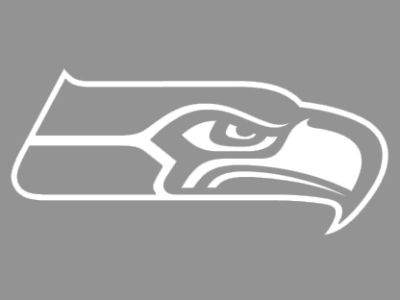 "Seattle Seahawks Die Cut Decal 8""x8"""