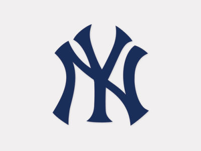 New York Yankees 4x4 Die Cut Decal Color