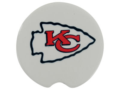 Kansas City Chiefs 2 Pack Car Coasters