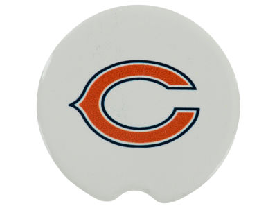 Chicago Bears 2 Pack Car Coasters