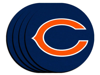 Chicago Bears 4-pack Neoprene Coaster Set