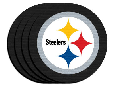 Pittsburgh Steelers 4-pack Neoprene Coaster Set