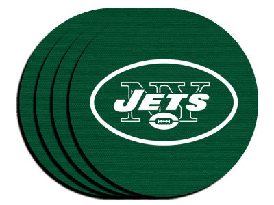 New York Jets 4-pack Neoprene Coaster Set