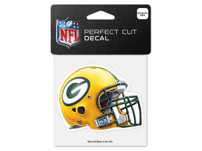 Green Bay Packers 4x4 Die Cut Decal Color