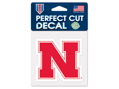 Nebraska Cornhuskers 4x4 Die Cut Decal Color