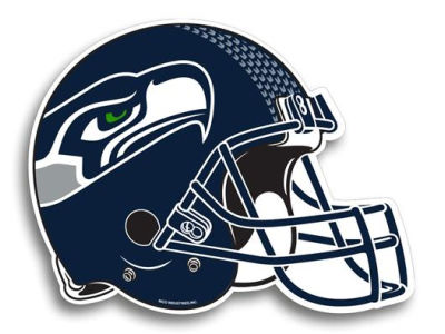 Seattle Seahawks 8in Car Magnet