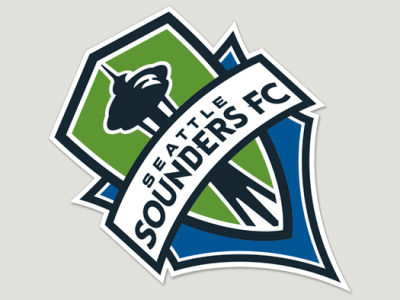 Seattle Sounders FC Die Cut Color Decal 8in X 8in