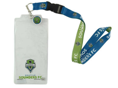 Seattle Sounders FC Team Lanyard With Ticket Holder
