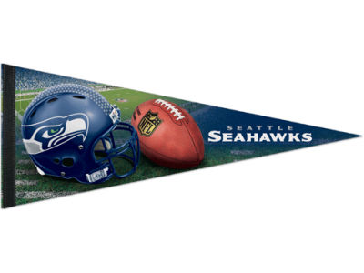 Seattle Seahawks 12x30in Pennant