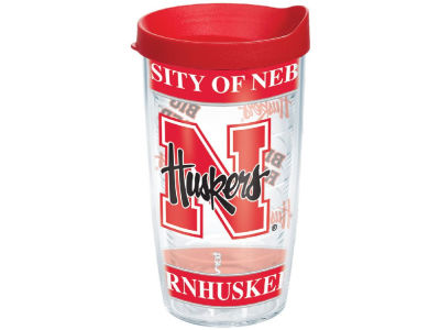 Nebraska Cornhuskers 16oz Wrap Tumbler With Lid